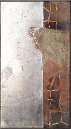 Sei Arimori Works 2007  Composition of light (II)  tempera on wood, goldleaf, silverleaf