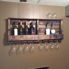 Pallet Wine Rack...WRack