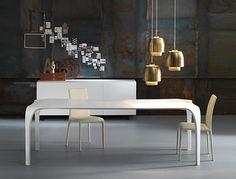 Tavolo da cucina da pranzo da salotto design UNICO by RIFLESSI | design RIFLESSI