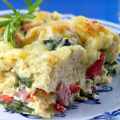 Ham and Cheese Breakfast Casserole Recipe – 5 Points Plus