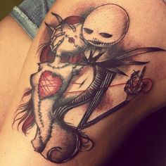 jack and sally tattoo - Google Search