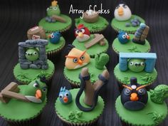 angry birds cupcake images - Google Search