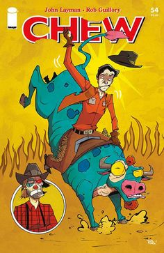 Chew (2009) Issue #54