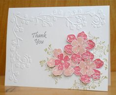 Two Tone Vintage Pink by susanbri - Cards and Paper Crafts at Splitcoaststampers
