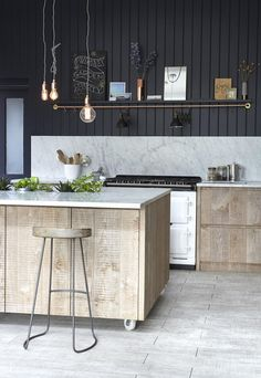 Industrial chic home | Un hogar chic industrial | casahaus.net