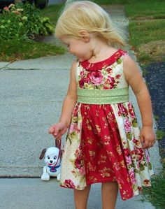 toddler dress - such a cute dress and would be fun to sew
