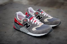 New Balance 999 Elite Edition - Grey/Red | Sole Collector