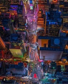 Times Square from above by @wantedvisual #newyorkcityfeelings #nyc #newyork
