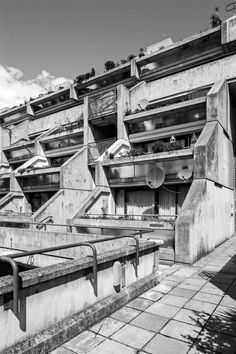 """new-brutalism:"""" Alexandra and Ainsworth Estate South Hampstead, London, Neave Brown, Camden Council's Architects Department, Simon Phipps"""" British Architecture, Brutalist, Graphic Design, Hampstead London, Camden, Image, Brown, War, Content"""