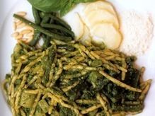 Recipe: Trofie al Pesto (Ligurian Gnocchi with Pesto) :: Saveur Magazine :: Culinate