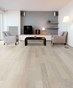 White Oak Flooring Interior Design Ideas