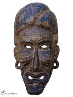 máscaras africanas w / decoración de la pared