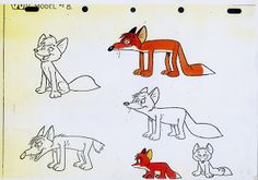 Living Lines Library: Vuk - Character Design Little Fox, Animation Reference, Storyboard, Character Design, Sketches, Drawings, Painting, Fictional Characters, Tattoos