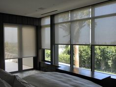 Motorized Rolling Screens from Bay Screens & Shades