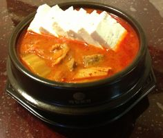 KOREAN RECIPES | Korean food photo: Kimchi Stew (김치찌개 /Kimchi jjiage ...