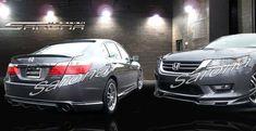 Custom Honda Accord Sedan Front Bumper (2004 - 2007) - $450.00 (Part #HD-007-FB) Custom Body Kits, Station Wagon, Honda Accord, Vehicles, Cutaway, Car, Vehicle, Tools
