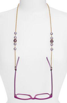 L. Erickson 'Cadabra' Swarovski Crystal Eyeglass Chain available at #Nordstrom