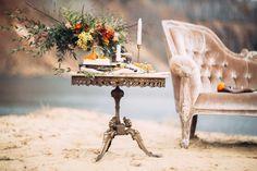 autumn lakeside bridal session | Maria Korneeva Photography