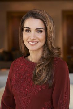 new portrait of Queen Rania