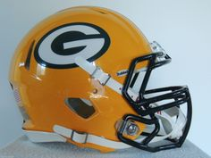 NEW REVOLUTION SPEED GREEN BAY PACKERS F/S FOOTBALL HELMET