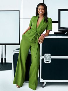 "Gabrielle Union, the ageless actress and star of ""Being Mary Jane has us loving her even more with her style choices. She started her own fashion line last year so we can confidently call her a fashion designer too. Business Casual Outfits, Business Attire, Chic Outfits, Fashion Outfits, Work Outfits, Business Chic, Fashionable Outfits, Dressy Outfits, Business Fashion"