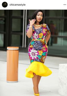 These fashionistas are proving Ankara print is here to stay! Ankara is so versatile and it is pretty cool to know you can sew any design of your choice with the vibrant print.