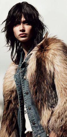 Denim and Fur | cynthia reccord