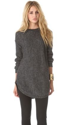 DKNY Novelty Stitch Pullover | SHOPBOP