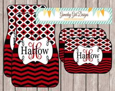 girly car floor mats. Perfect Floor Chevron Car Accessory Red And Black Monogrammed Car Mats Personalized By  Etsy Store GamedayGirlDesigns Shop On Girly Floor