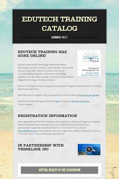 EduTech Training Catalog