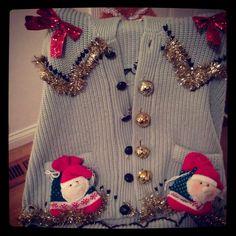 Tacky Christmas Sweater! #tacky #ugly #christmas #sweater