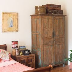 vintage armoire from Scaramanga