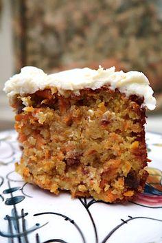Gluten Free Carrot Cake, Gluten Free Desserts, Gluten Free Cakes, Köstliche Desserts, Gluten Free Cooking, Gluten Free Recipes, Delicious Desserts, Carrot Cakes, Cooking Recipes