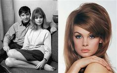 Timeless beauty: David Bailey and Jean Shrimpton, 1963; Shrimpton photographed by David Montgomery, 1965 - The Shrimp who sparked the Sixties