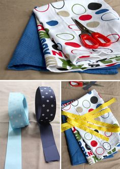 How To Make Aprons From Tea Towels Without Sewing