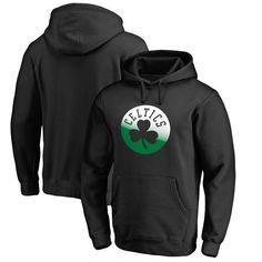 Boston Celtics Fanatics Branded Gradient Logo Pullover Hoodie - Black - $64.99