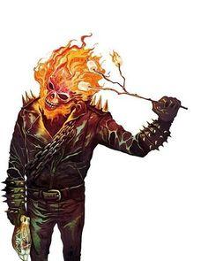 "Ghost Rider - Mike del Mundo (@deadlymike) on Instagram: ""#tbt circa2012 #Johnnymarshmallows #ghostrider #johnnyblaze #marshmallow #roastingmarshmallows…"""