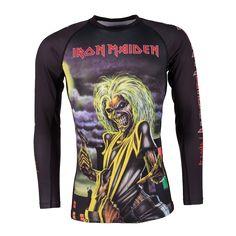 Tatami Iron Maiden Killers rash guard - Long Sleeve