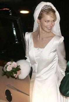 Archduchess Marie-Christine of Austria wedding on 6 Dec 2008 in Mechelen Belgium.