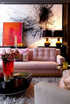 pink-black-decor