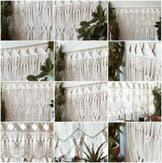 """Since most of the braided wall hangings are one side against the wall, the shape is generally developed on the visible side as much as possible. The rule of """"change and unity"""" of formal beauty can be symmetrical and balanced. The artistic form should reflect the expressive characteristics of program beauty, plane beauty, space beauty and complete beauty. Home Living Room, Wall Hangings, Unity, Plane, Hand Knitting, Hand Weaving, Wall Decor, Tapestry, Curtains"""