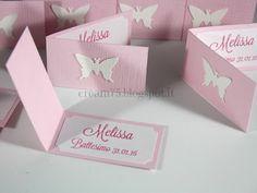 My Sweet Blog: Biglietti stampati con farfalla, per confetti o bomboniere