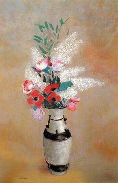 redon pastels | Odilon Redon - pastel - 72 x 46 cm