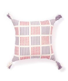 The Grid cotton pillow - Cushions - Bedroom - Homewares