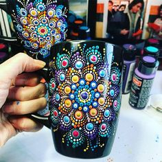 "1,124 Likes, 13 Comments - MandalaDesigner Andrey Zinchuk (@azartgroup) on Instagram: ""Good Morning! Have a nice day Mandala cup by @the_dotted_turtle For order - send DM to me…"""