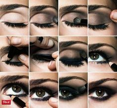 Check out this bold and intense smokey eye for a night out. Get the look with makeup from Duane Reade.