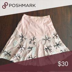 Pressman embroidered fireworks skirt for summer Pressman embroidered fireworks skirt for summer. 100% cotton. Skirts Midi