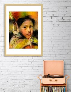 Discover «Andean Child», Exclusive Edition Fine Art Print by Jaime Andres Betancur - From 23€ - Curioos