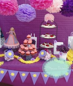 Rapunzel Tangled Birthday Party Ideas