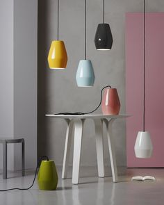 Bell Ceramic Pendant Light from Northern Lighting  http://www.redbrickmill.co.uk/store-list/funktion-alley/